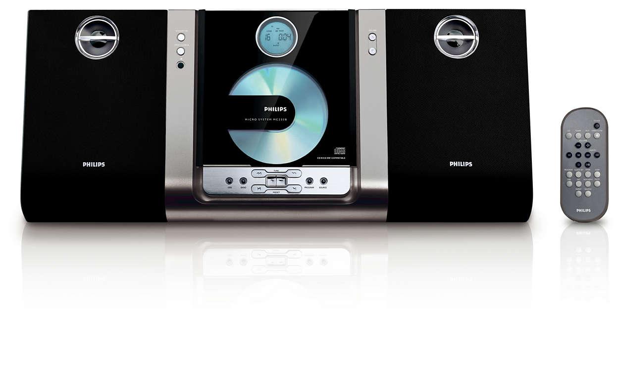 Unik stil – utrolig lyd – kan monteres på vegg