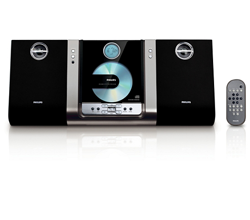 micro hi fi system mc235b 37 philips. Black Bedroom Furniture Sets. Home Design Ideas