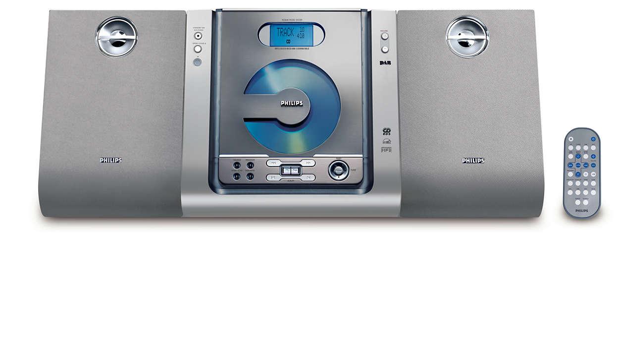 Digitaal geluid met DAB-stations