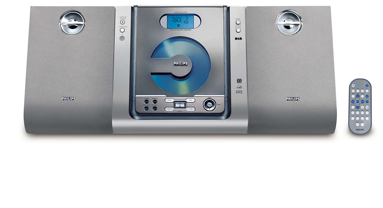 Digitalt ljud från DAB-stationer