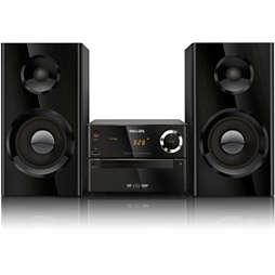 DVD-mikromusiikkijärjestelmä