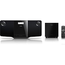 MCD263/55 -    Estético microsistema de DVD