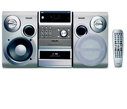 DVD, WMA-CD and MP3-CD playback