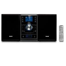 MCD395/12 -    Κλασικό σύστημα micro DVD