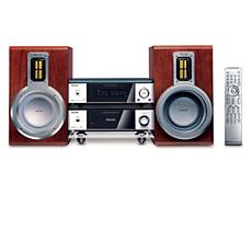 MCD708/12 -    Mikrosystem med DVD-spelare