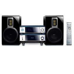 Komponentni sistem hi-fi z DVD-predvajalnikom