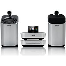 MCD900/12  DVD-HiFi-systeem met componentontwerp