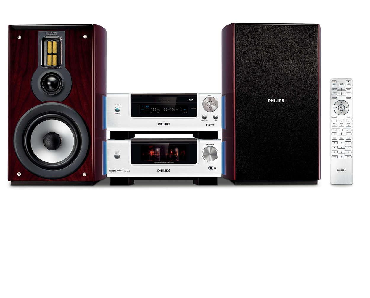 Hi-Fi-lyd i en kompakt løsning
