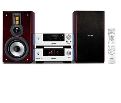 Hi-Fi sound in a compact solution