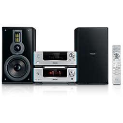 Heritage Audio Sistema Hi-Fi con componentes DVD