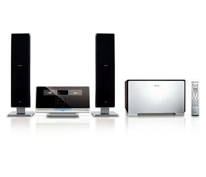 Surround sound from the wall