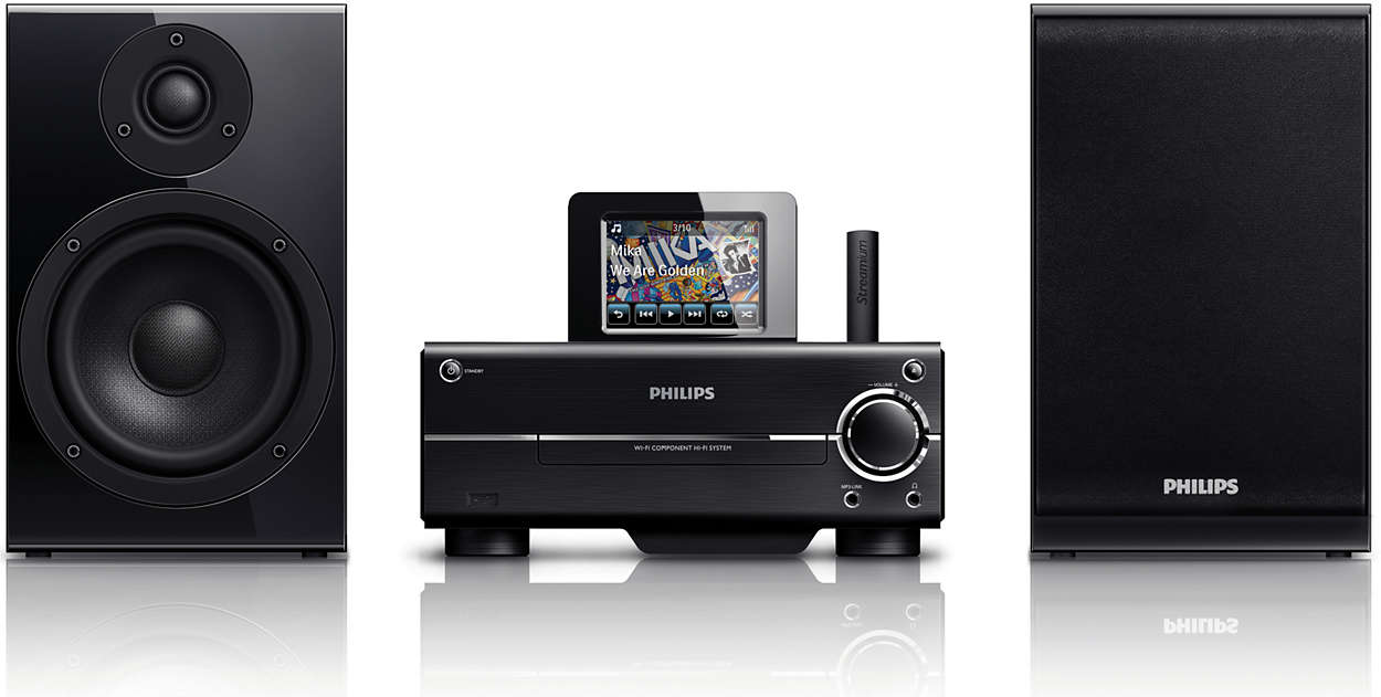 Transmiteţi muzică de pe PC/MAC şi Internet - wireless