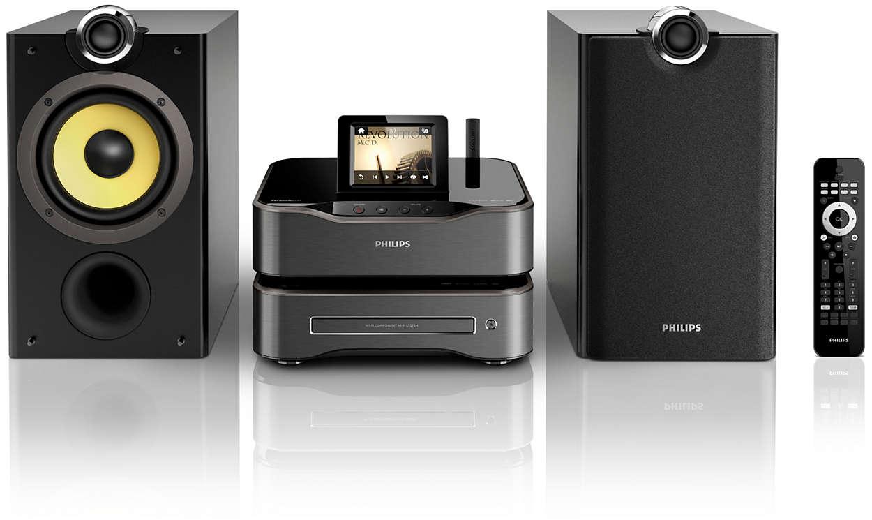 Vychutnejte si hudbu Hi-Fi vkaždé místnosti