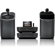 MCI900/12  Wi-Fi komponentinė Hi-Fi sistema