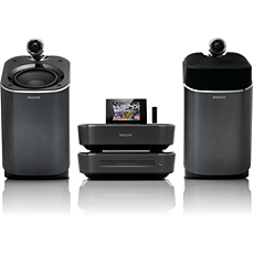 MCI900/12  Wi-Fi komponentu Hi-Fi sistēma