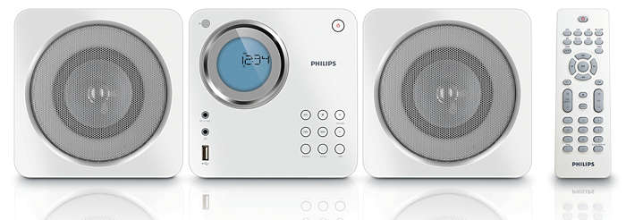 Cube Micro Sound System Mcm103 98 Philips