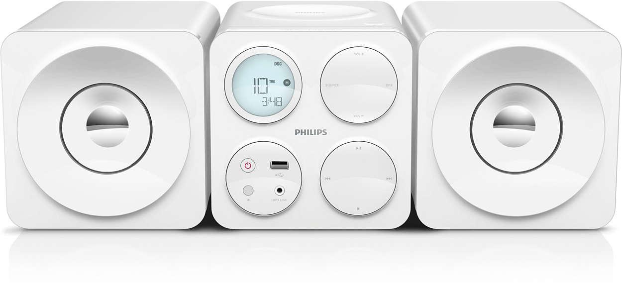 Cube Micro Soundsystem Mcm1050 12 Philips