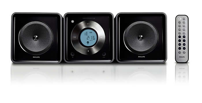 Compact audio system to match your lifestyle