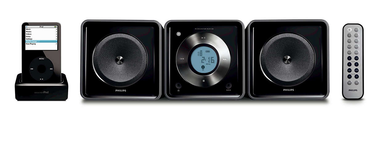 Reproduce y carga tu iPod