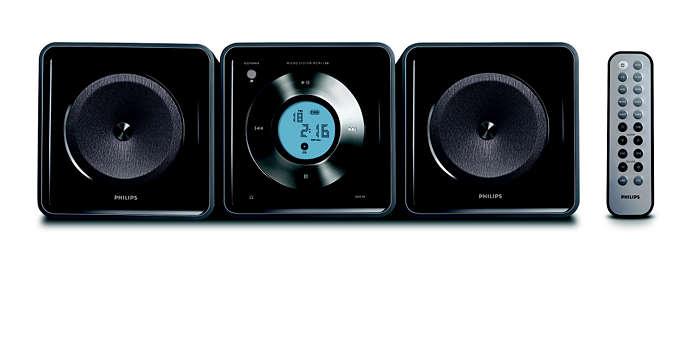 Un sistema audio compatto che si adatta al tuo stile di vita