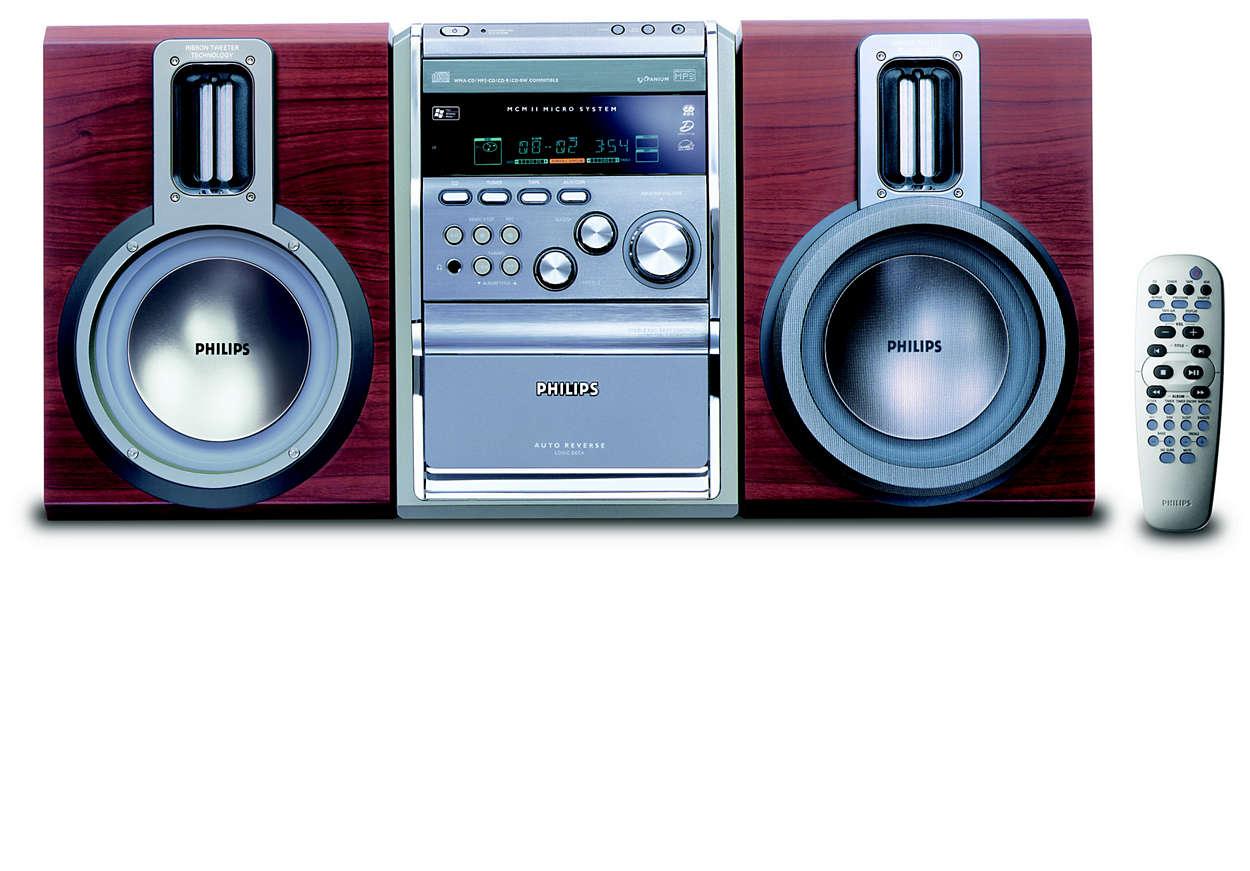 Spela MP3-CD- och WMA-CD-skivor