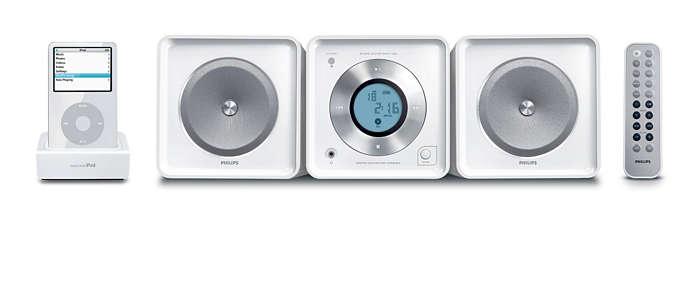 Enjoy your tunes in Hi-Fi sound quality