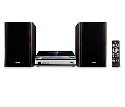 Audio eccellente e design elegante