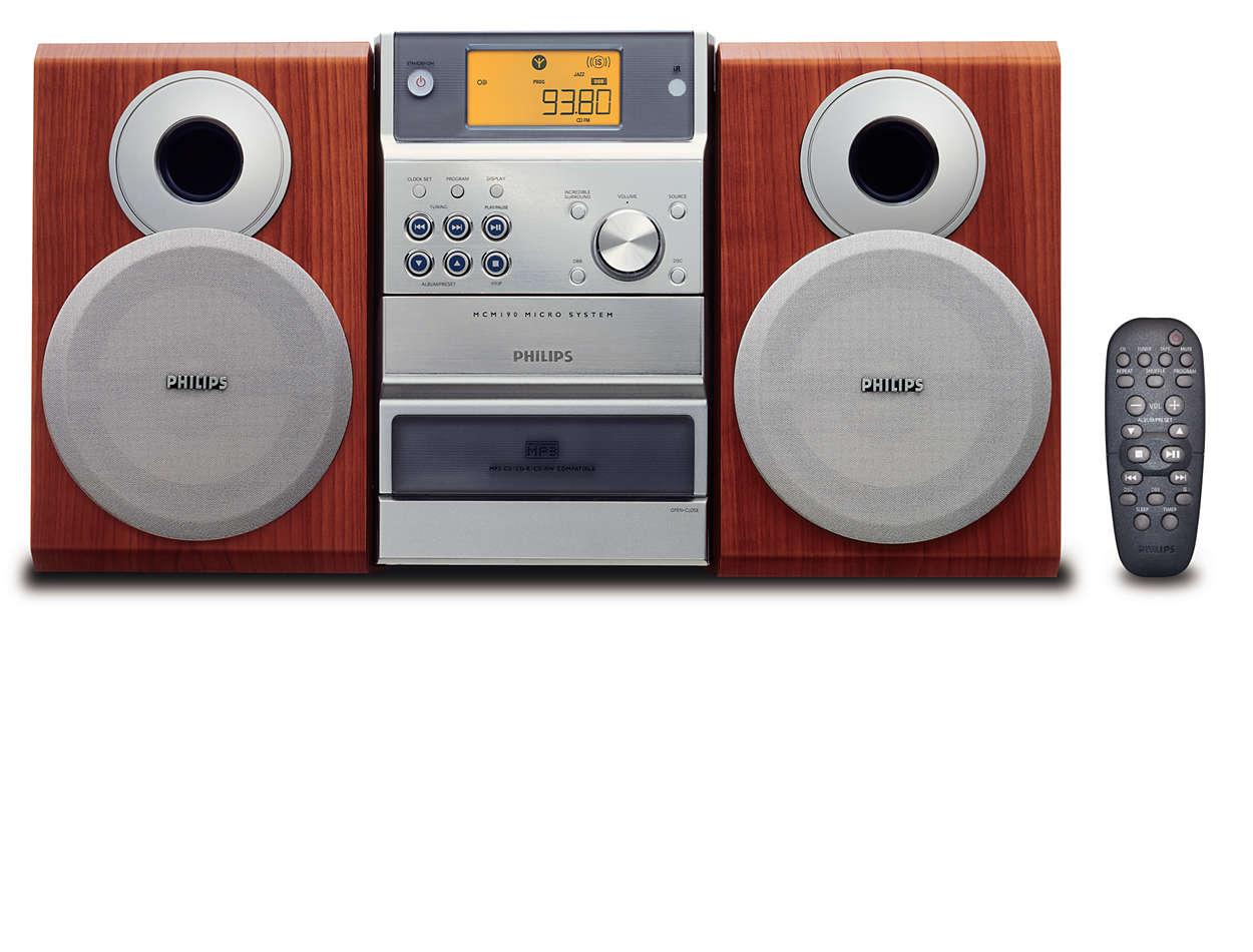 Disfruta de la música de tus CDs de MP3 como a ti te gusta