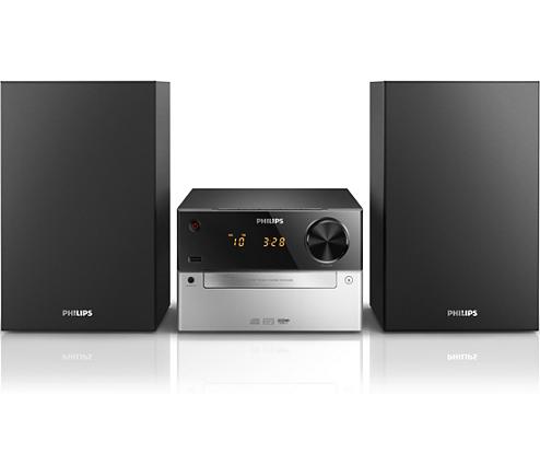 mini stereoanlage mcm2300 12 philips. Black Bedroom Furniture Sets. Home Design Ideas
