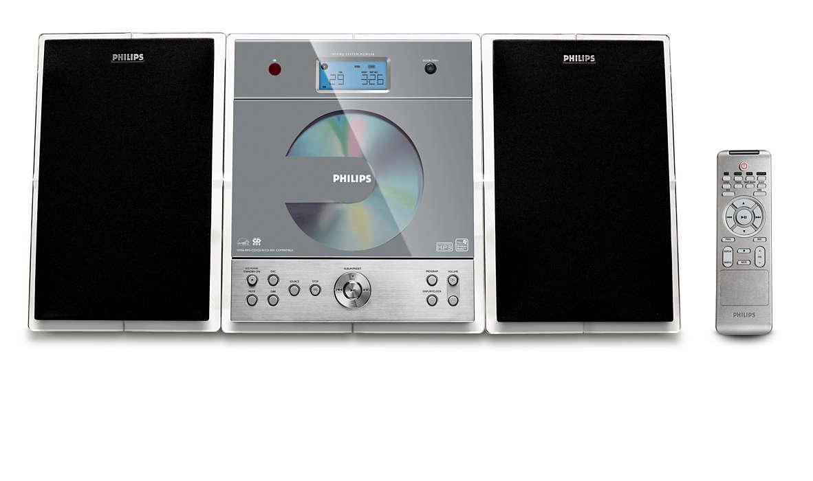 Stor lyd i kompakt design
