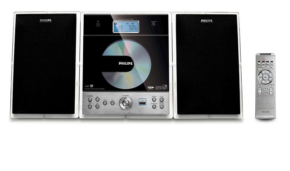 Rijk geluid in een compact ontwerp