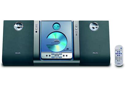Jedinečný styl – skvělý zvuk – možnost montáže na stěnu