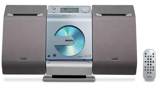 Música digital con USB directo