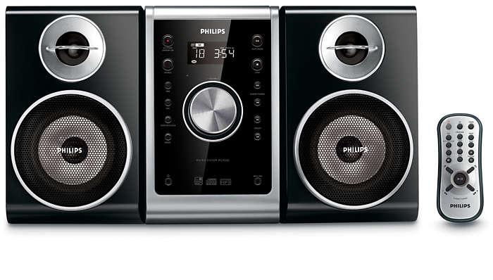 Excelente calidad de sonido en un diseño compacto