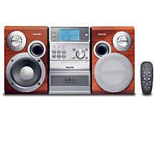 MCM390/22 -    Mikrowieża Hi-Fi