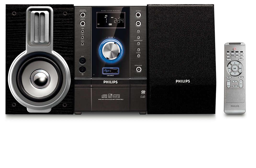 Goditi i tuoi brani in qualità Hi-Fi