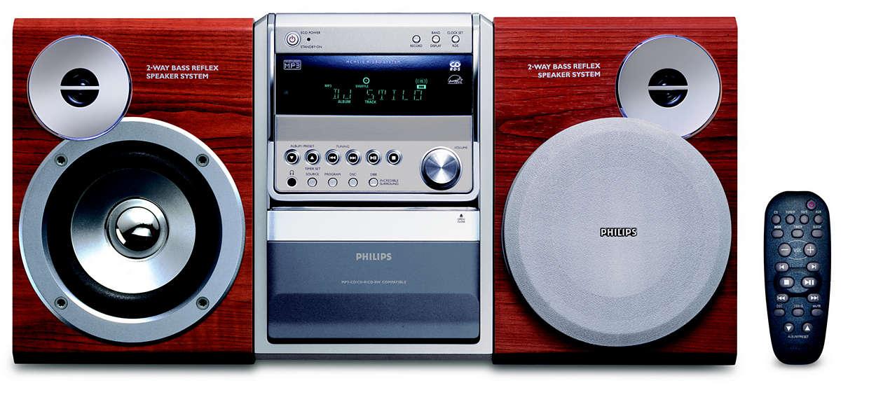 MP3-CD's afspelen