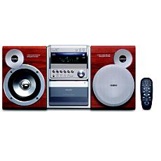 MCM510/22 -    Mikrowieża Hi-Fi