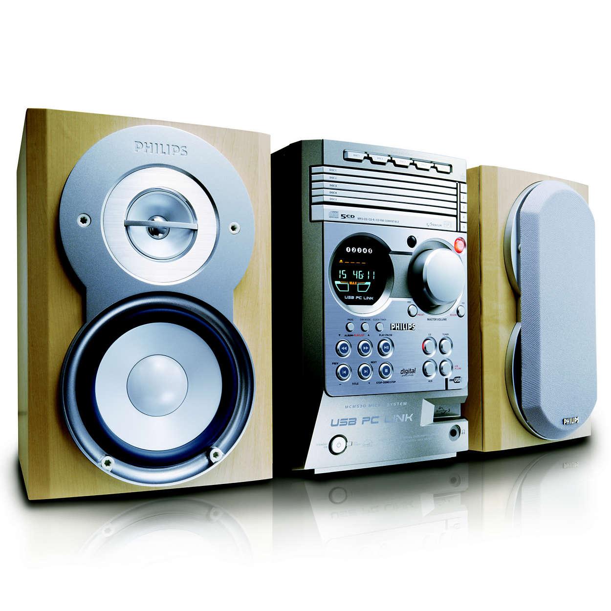 Micro Hi-Fi System MCM530/37 | Philips