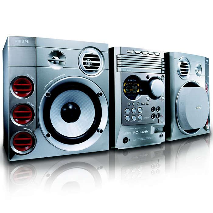 Ouça músicas MP3 em seu computador usando o controle remoto