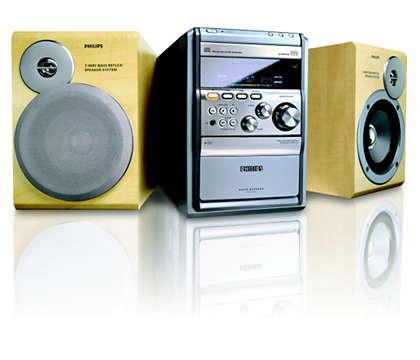 Écoutez des CD-MP3