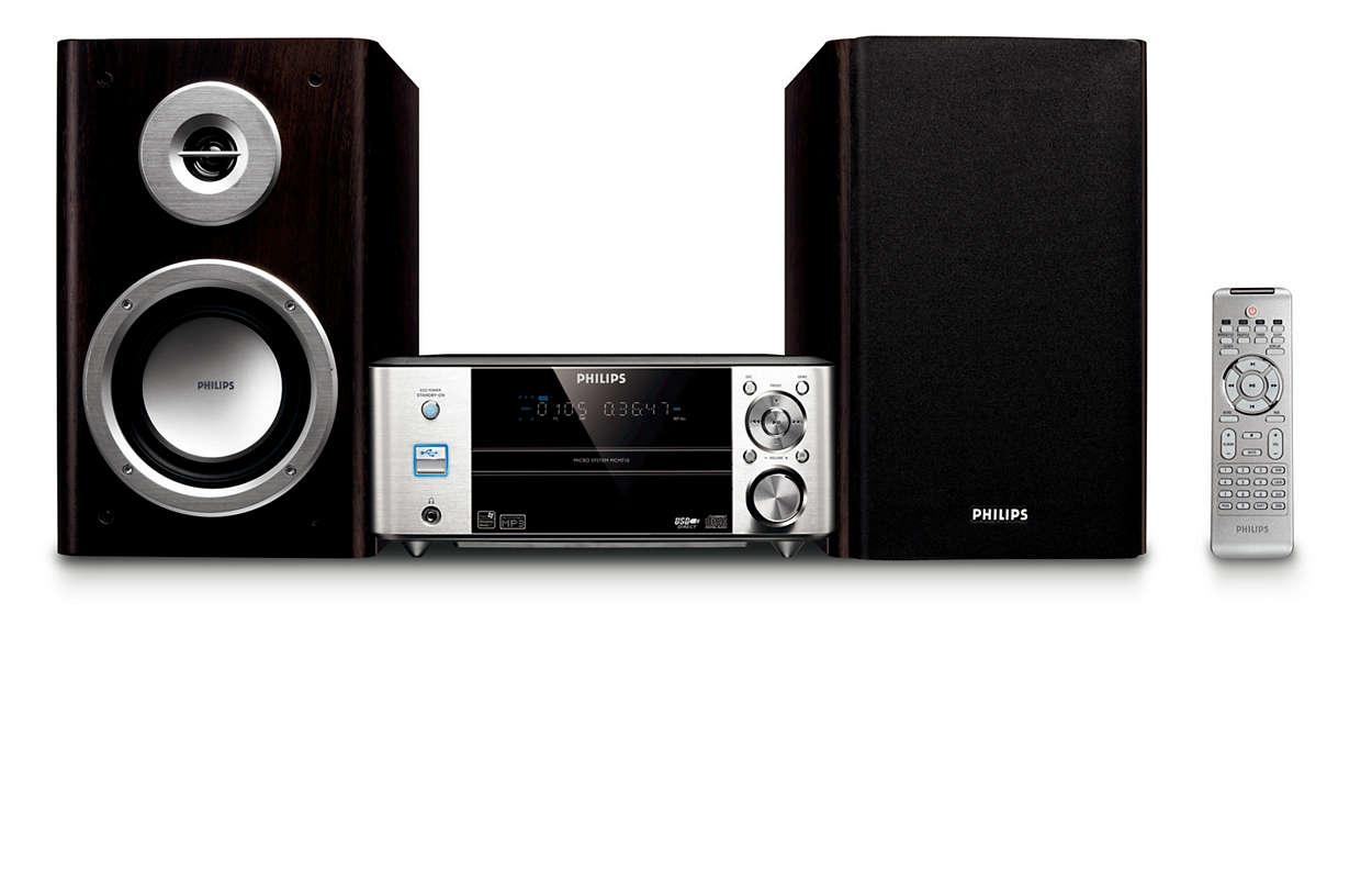Mäktigt ljud i kompakt design