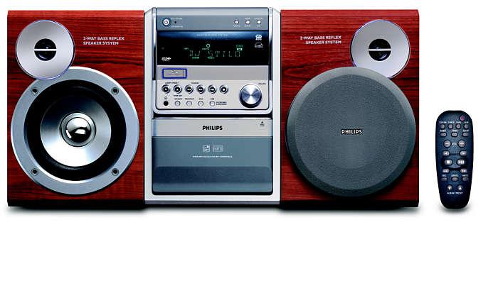 Digitale muziek met directe weergave vanaf USB