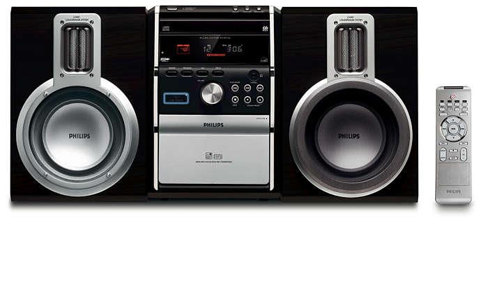Äkta ljud med raffinerad design