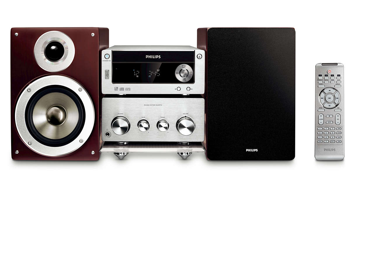 heritage audio cha ne hi fi mcm772 12 philips. Black Bedroom Furniture Sets. Home Design Ideas