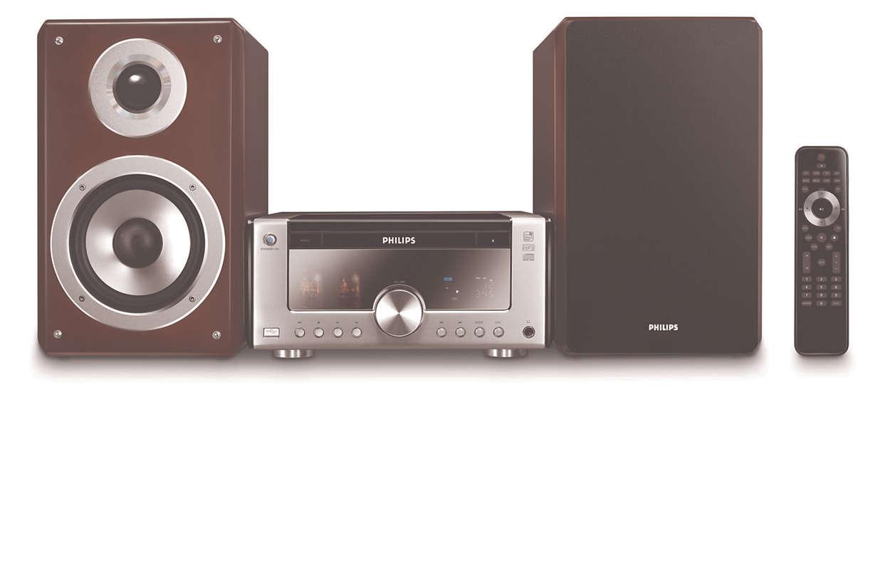 heritage audio komponenten hifi system mcm906 12 philips. Black Bedroom Furniture Sets. Home Design Ideas