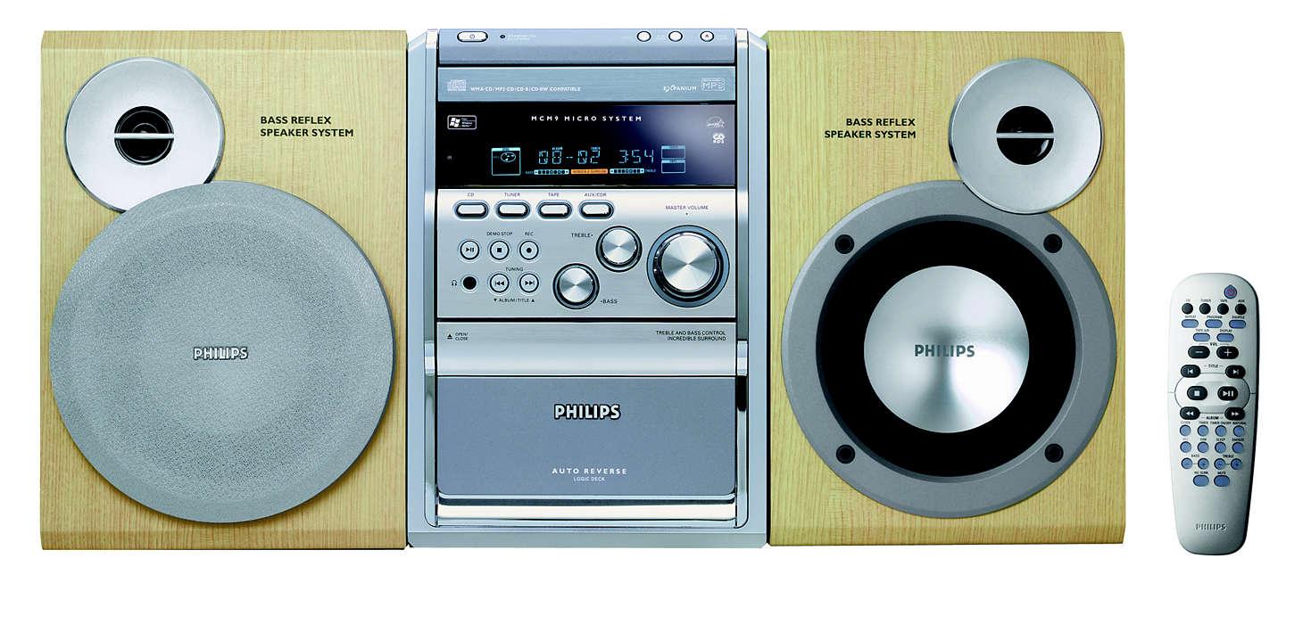 Αναπαραγωγή MP3-CD & WMA-CD