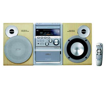 Reproduza CD MP3 e WMA