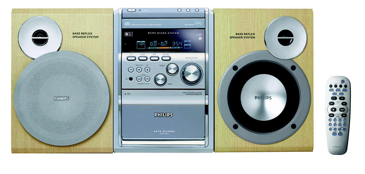 Prehrávanie médií MP3-CD a WMA-CD