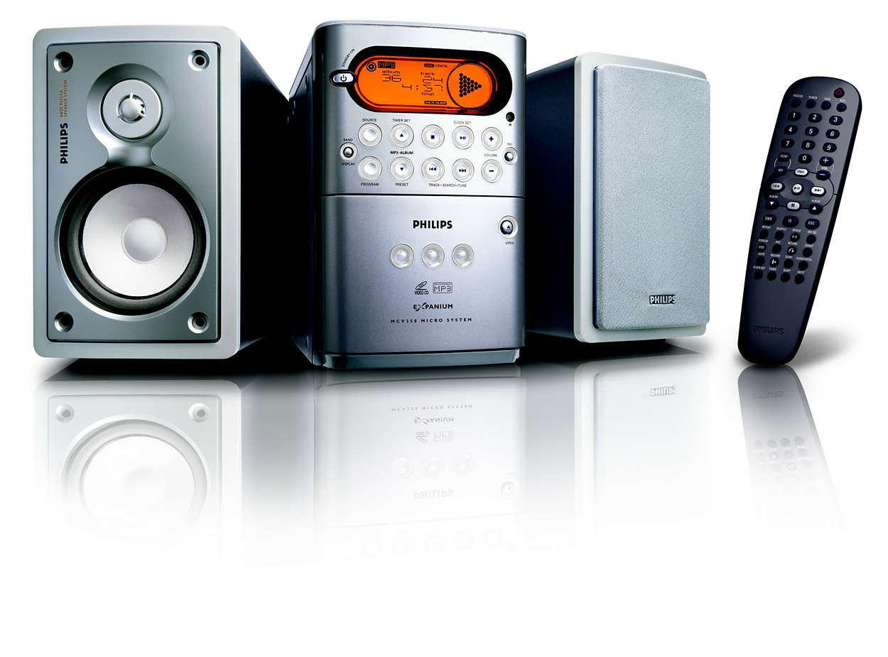 Video CD oynatma ve MP3-CD çalma